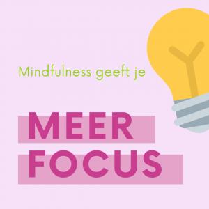 mindfulness voor herstel van stress